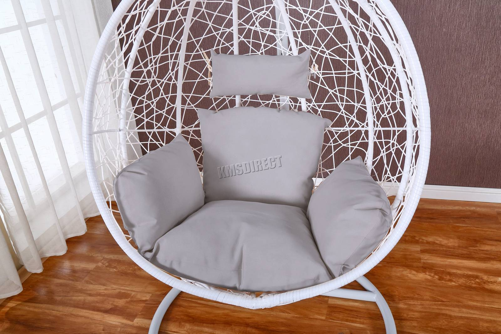 Egg Wicker Chair Details About Westwood Egg Swing Hanging Chair Hammock Wave With Cushion Rattan Wicker Eswr01