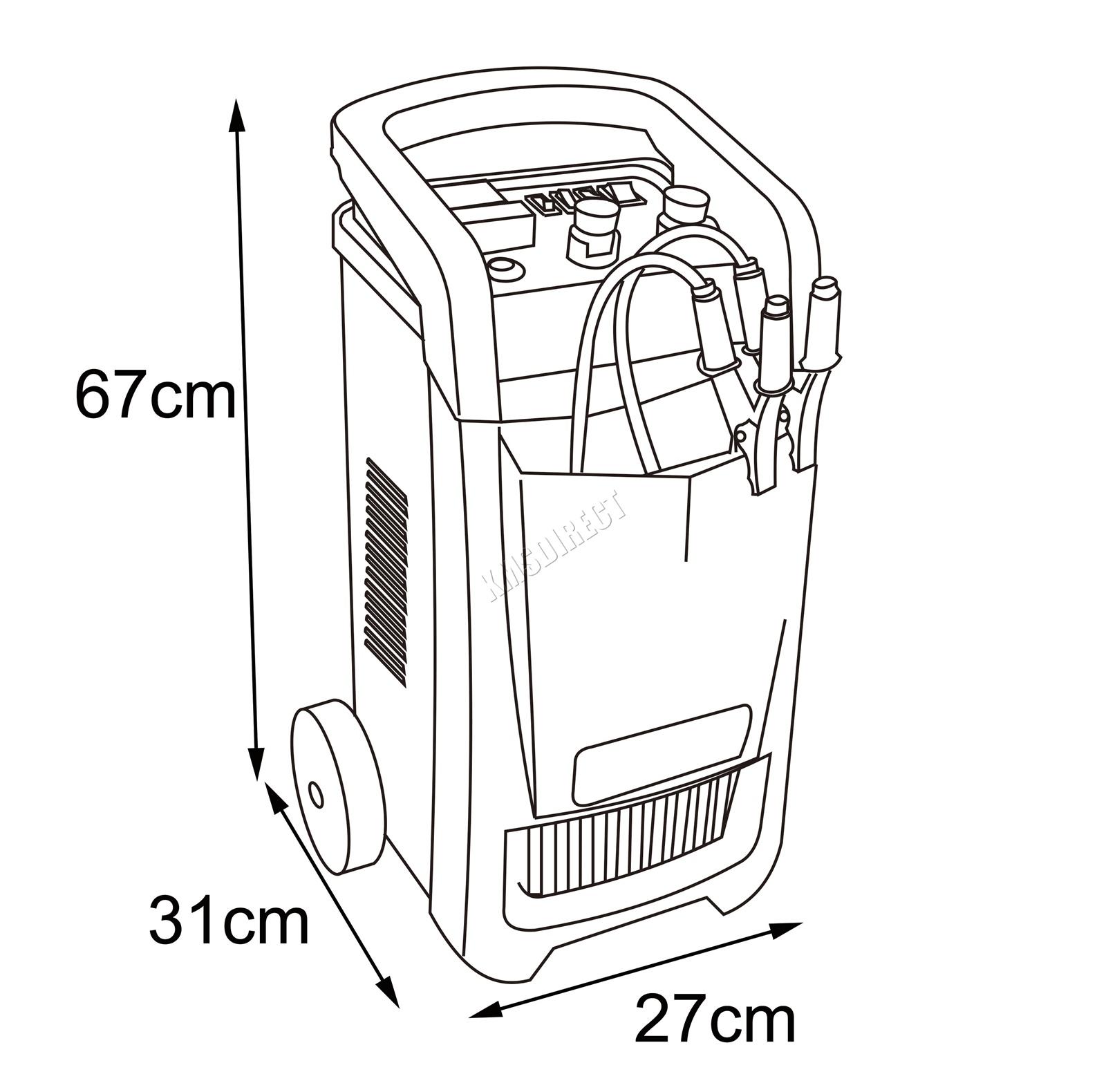 Switzer Heavy Duty Vehicle Car Battery Charger 12v 24v