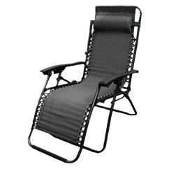 Patio Recliner Lounge Chair Upholstery For Chairs Textoline Zero Gravity Garden Reclining Relaxer