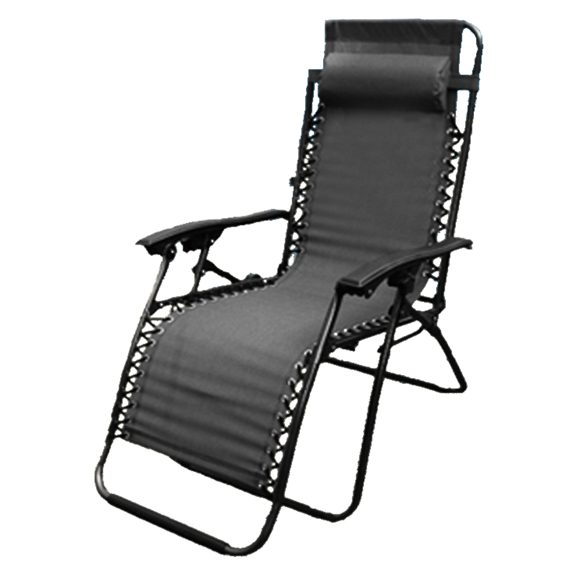 Camping Lounge Chair New Zero Gravity Garden Reclining Recliner Relaxer Lounger