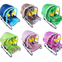 Bouncy Chairs For Babies Chair Pockets Classroom New Baby Infant Child Bungee Bouncer Rocker Recline