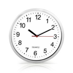 Retro Kitchen Wall Clock Hand Soap New Large Vintage Round Modern Home Bedroom Time