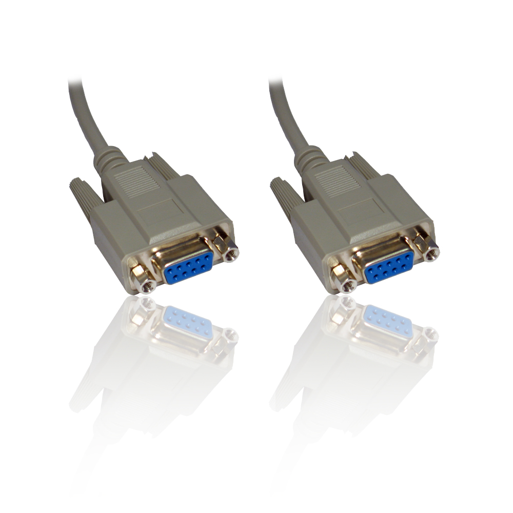 medium resolution of 10m 33ft null modem serial db9 female rs232 rs 232 9pin to 9 pin cable lead wire