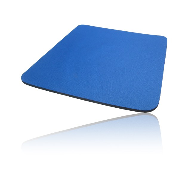 Hard Foam Cloth Covered Pc Computer Mice Mouse Mat Pad Blue