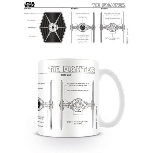 small resolution of star wars tie fighter sketch mug ceramic coffee tea cup film diagram schematic