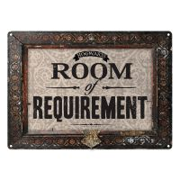 HARRY POTTER ROOM OF REQUIREMENT A5 STEEL SIGN TIN PICTURE ...
