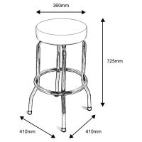 Size Of Bar Stools - Creepingthyme.info