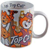 NEW TOP CAT HES THE MOST TIP TOP MUG RETRO CERAMIC COFFEE ...