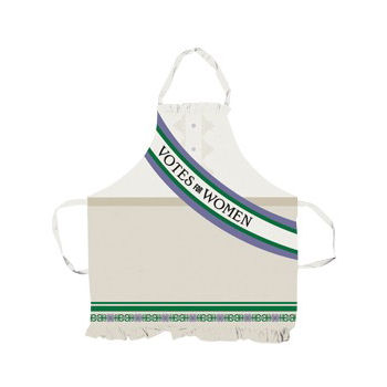 Suffragettes Votes For Women Cotton Apron Preview