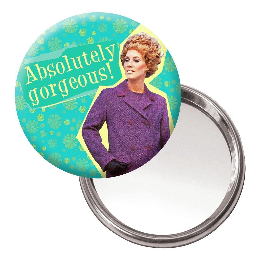 New Absolutely Gorgeous Handbag Makeup Mirror Retro Ladies