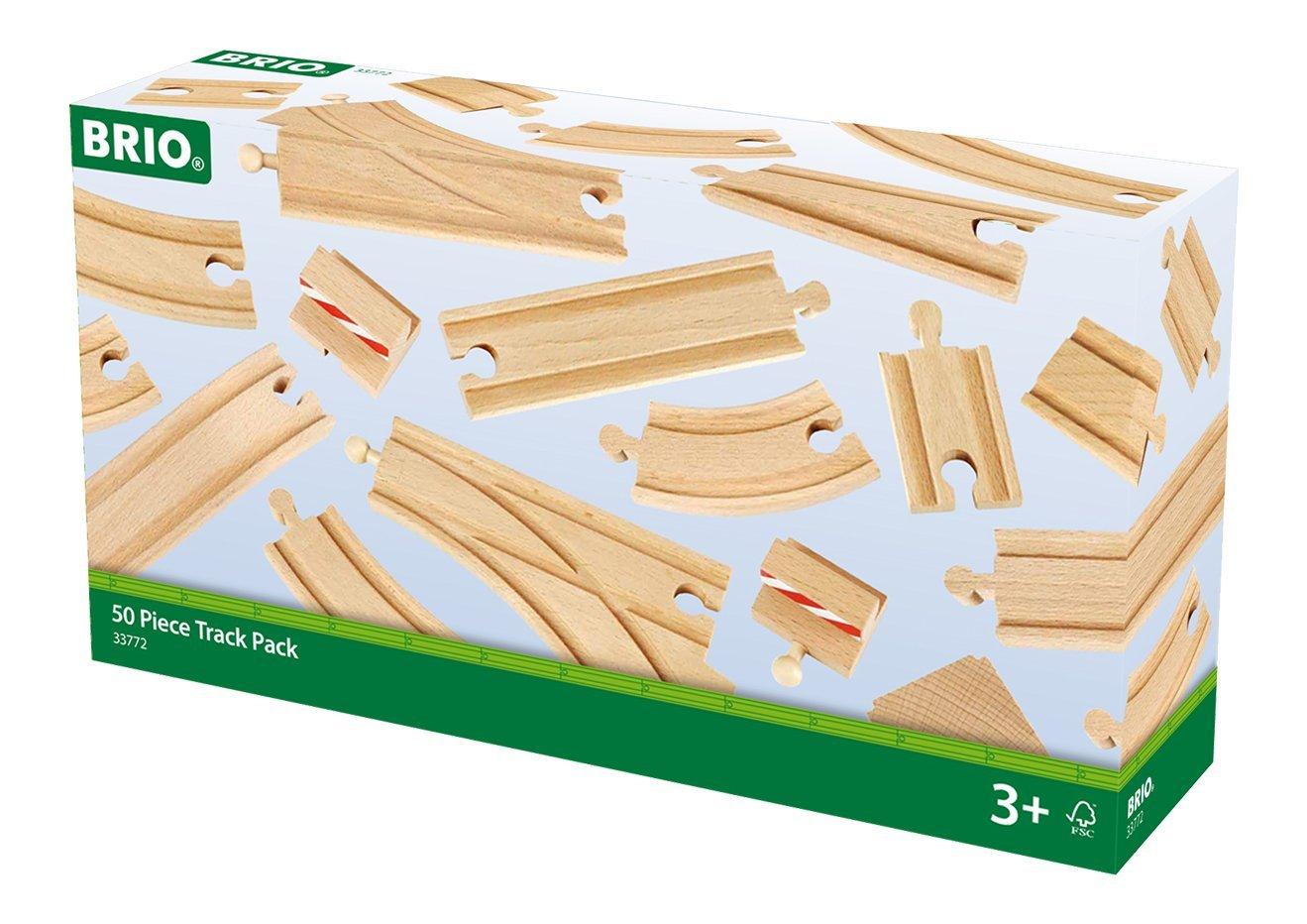 BRIO Railway Track Full Range Of Wooden Train Tracks