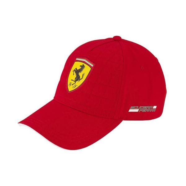Scuderia Ferrari F1 Quilt Stitch Baseball Cap - Genuine