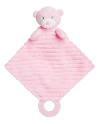 Aurora Baby Bear PLUSH Soft Toy teddy Pink Blue Cream ...