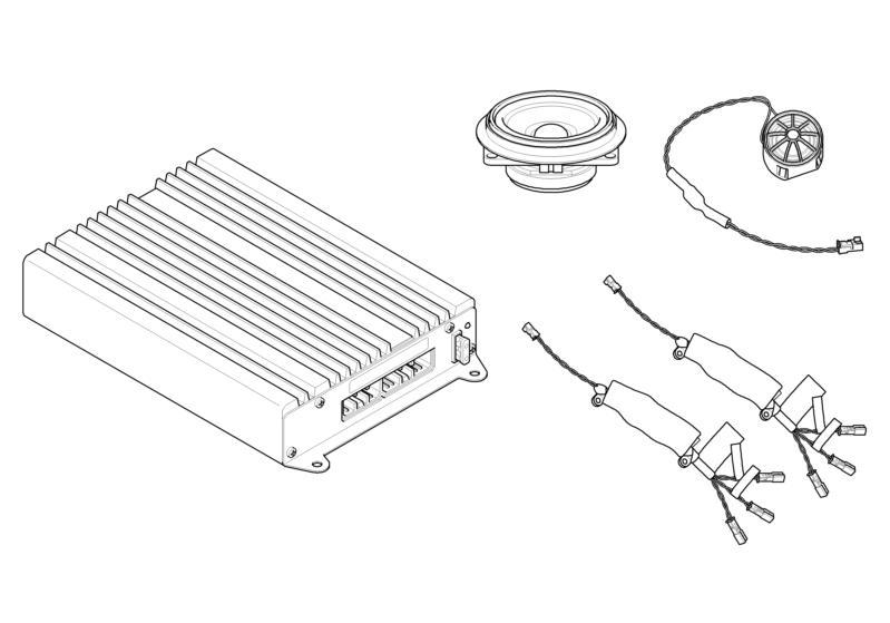 BMW Genuine Car Radio Hi-Fi Alpine Stereo System 1/3