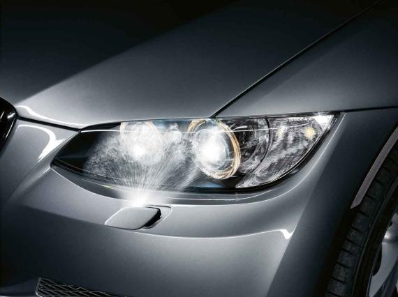 BMW Genuine M Sport Headlight Washer Cover Left E92E93 3
