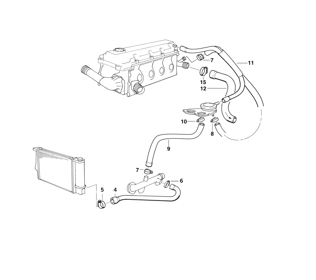 Bmw E36 Cooling System Diagram, Bmw, Free Engine Image For