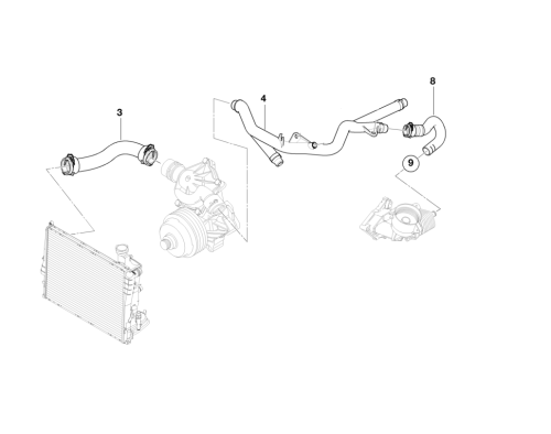small resolution of 2000 bmw e39 cooling system diagram 2000 free engine