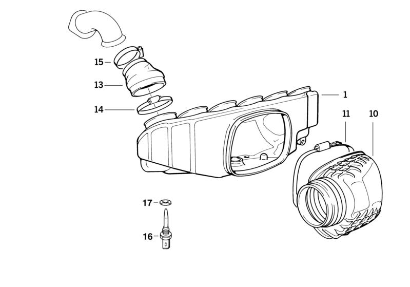 BMW Genuine Intake Manifold Temperature Sensor E36/E38 Z3