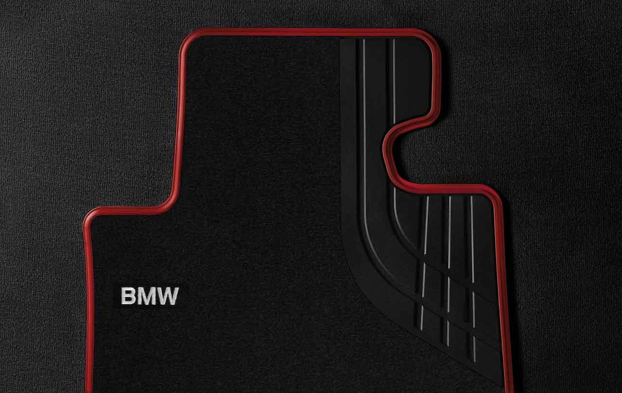 BMW Genuine Tailored Textile Front Floor Mats Sport F30