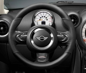 MINI Genuine JCW Sport Steering Wheel Trim Cover Carbon