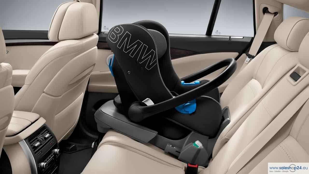 BMW Genuine Baby Car Seat 0 Rear Facing in Black
