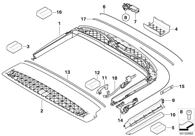 Service manual [Parts Com 174 Hummer Sunroof Glass