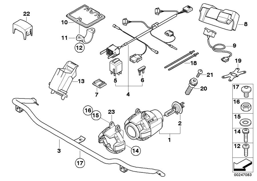 Motorrad Genuine Screw Bolt M8x30 F650GS F700GS F800GS