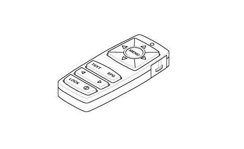BMW Genuine TV Set-top Box Radio Remote Control