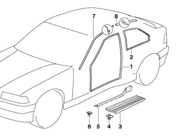 Bmw 335i parts diagram