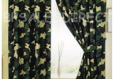 Army Camo Curtains