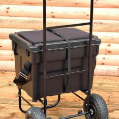 Fishing Chair Box Cheap Tennis Balls For Chairs Bison Seat Trolley And Seatbox Barrows