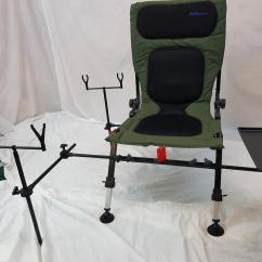 Fishing Rod Chair Aspen Outdoors Chairs Bison Delux Carp Station Pod Bivvy