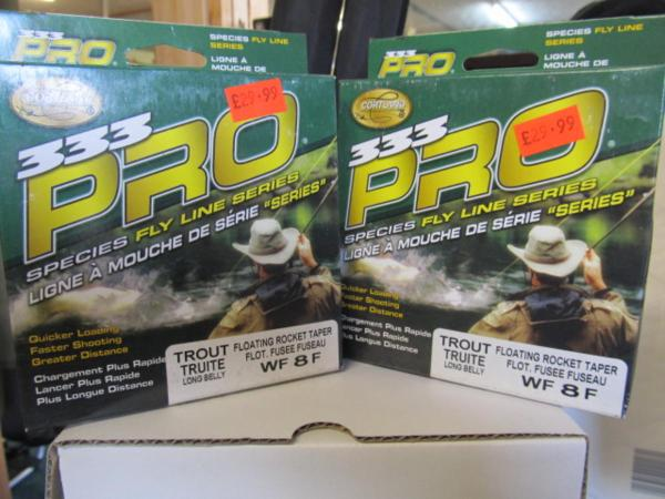 Special Cortland Pro333 Fly Line Wf8f Long Belly