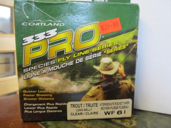 Special Cortland 333 Pro Fly Line Wf61 Long