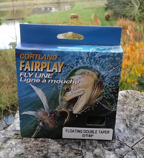 Special Cortland Fairplay Fly Line Dt8f Green
