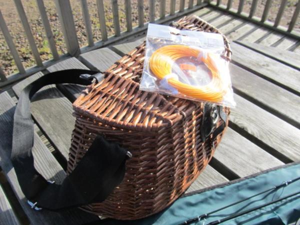 Travel Stream Fly Fishing Kit 8' Rod Reel Line