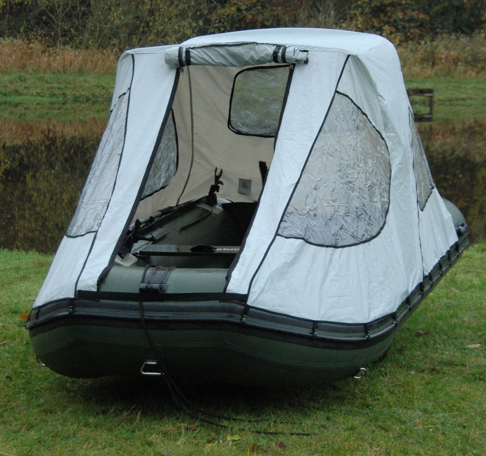 fishing chair tent covers ottawa bison marine bimini cockpit canopy for inflatable boat