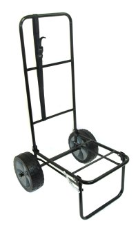 "FOLDING FISHING SEATBOX TROLLEY WITH 10"" PUNCTURE PROOF ..."
