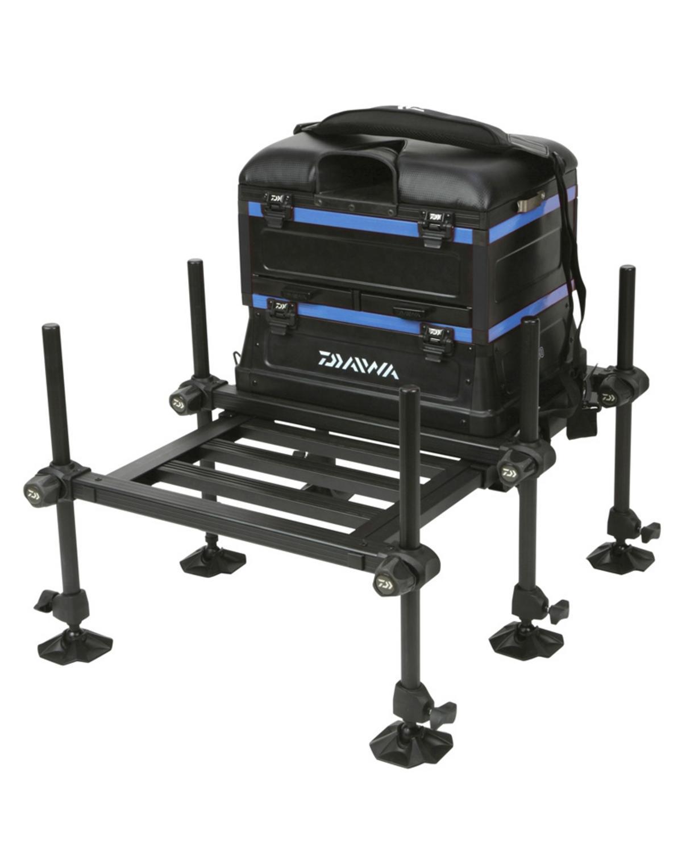 daiwa fishing chair upholstered office 160 seat box model no d160sb b seatbox rrp 335 blue