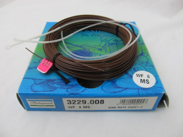 Shakespeare Professional Fly Line Backing & Loops Wf8ms
