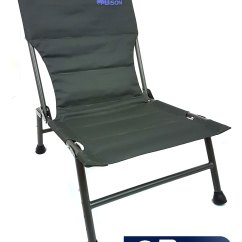 Fishing Chair Uk Outdoor Webbing Bison Carp Ebay