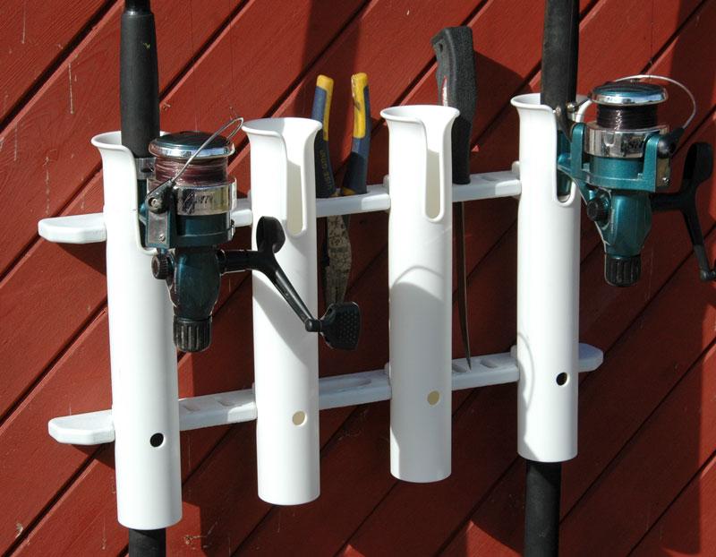 boat rod holder vertical 2 3 4 5 tube accessory rack