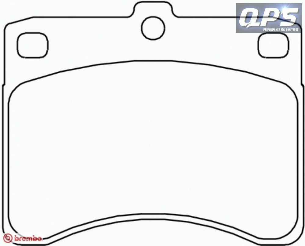 DAIHATSU HIJET II Box (S85) 1.4 D Brembo Front Brake Pads