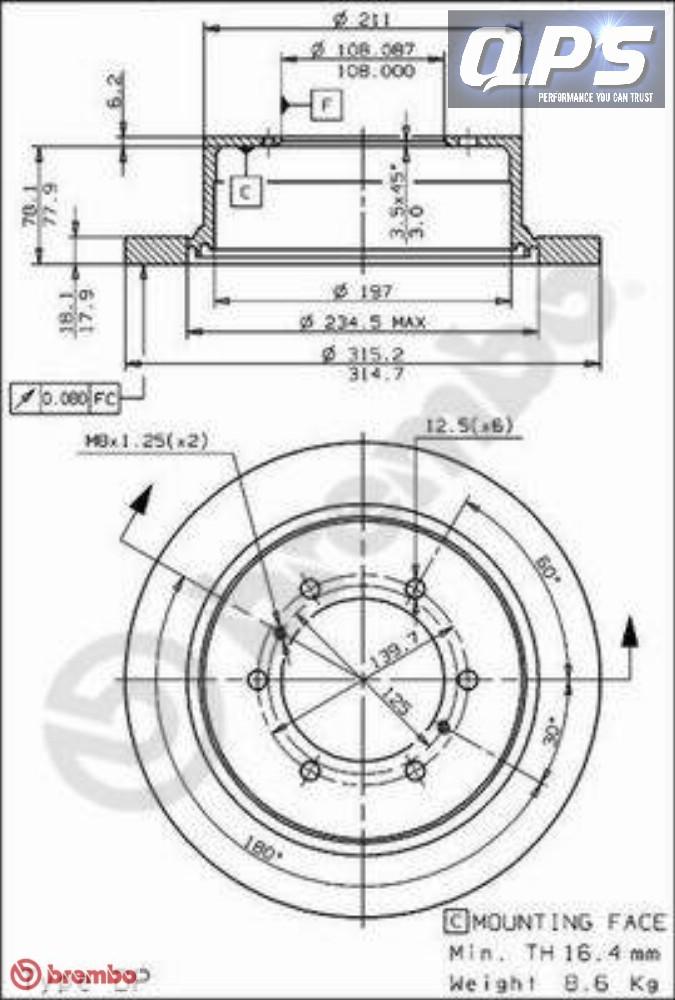 MITSUBISHI PAJERO SPORT (K90) 3.0 V6 (K96W) POSTERIORE