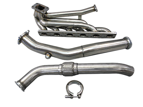 Top Mount T3 GT35 Turbo Kit Manifold Downpipe 92-98 BMW