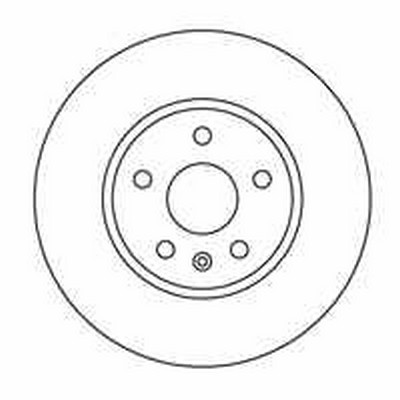 Vetech Front Vented Brake Disc 321mm Vauxhall Insignia