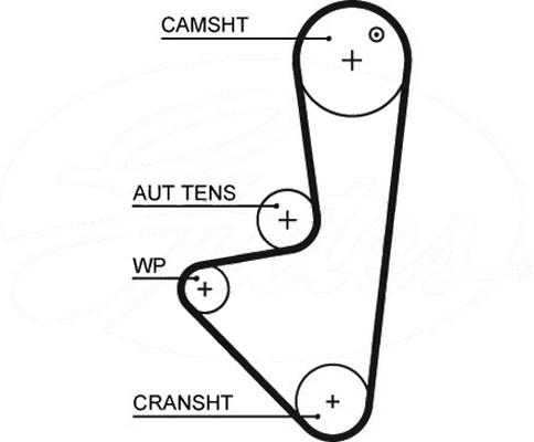 OEM Camshaft Engine Cam Timing Belt Service Replace