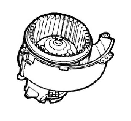 Vauxhall Astra Mk4 Mk5 1998-2010 Oem Heater Heating Blower