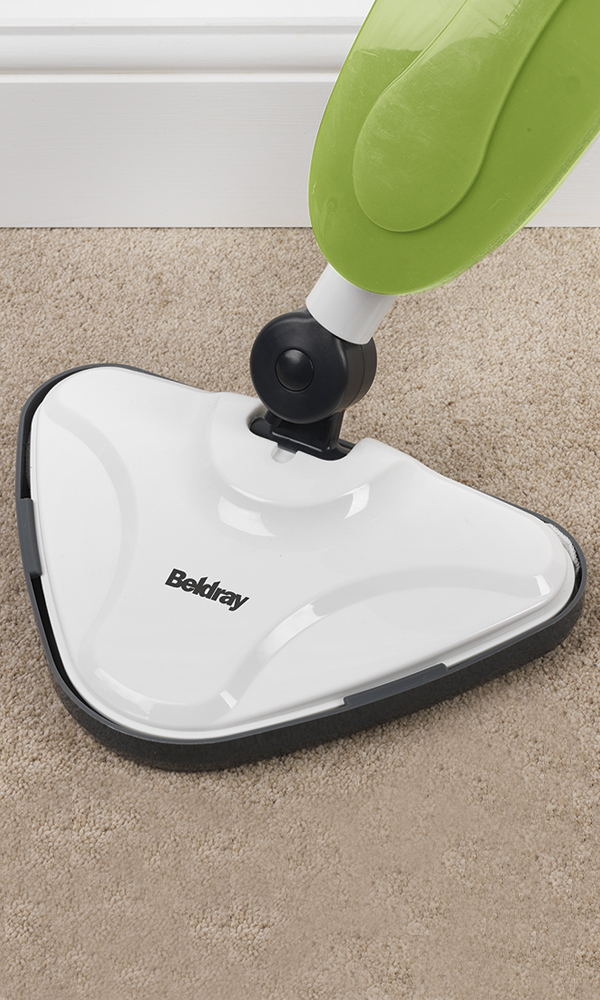 laminate floors in kitchen and dining room tables beldray triangular steam mop - green |