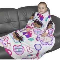 Doc Mcstuffins Upholstered Chair Uk Swing Craigslist Disney Hugs Sleeved Fleece Ddhnugfl002